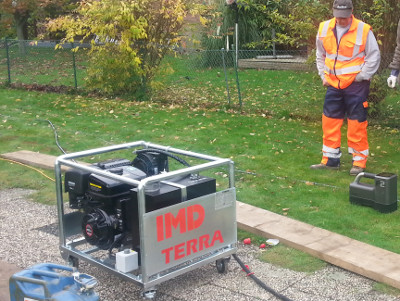 Monitor des Ortungssystems, monitor locating system© TERRA AG, Reiden, Switzerland