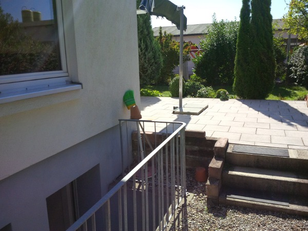 Terrasse und Vorgarten, terrace and front garden  © TERRA AG, Reiden, Switzerland