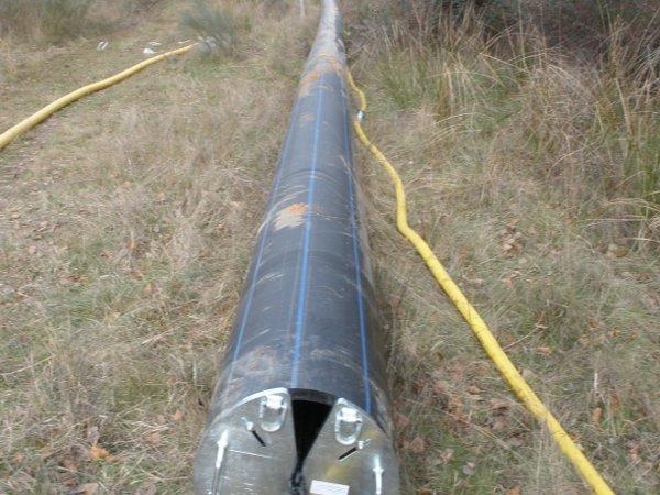 90m Neurohr, 90m (300 ft) long new pipe © TERRA AG, Reiden, Switzerland