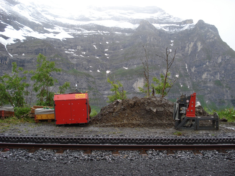 X 400 in der Bergwelt, X 400 in the Swiss Alps © TERRA AG, Reiden, Switzerland