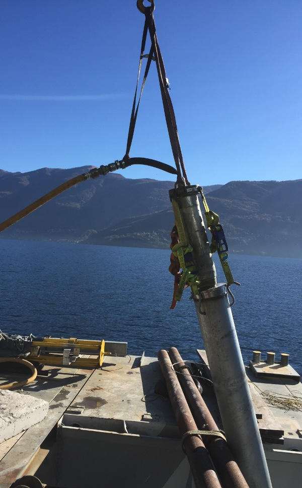 TERRA Steel Pipe Ram TR 200mini rams foundation piles for piers, pic 3