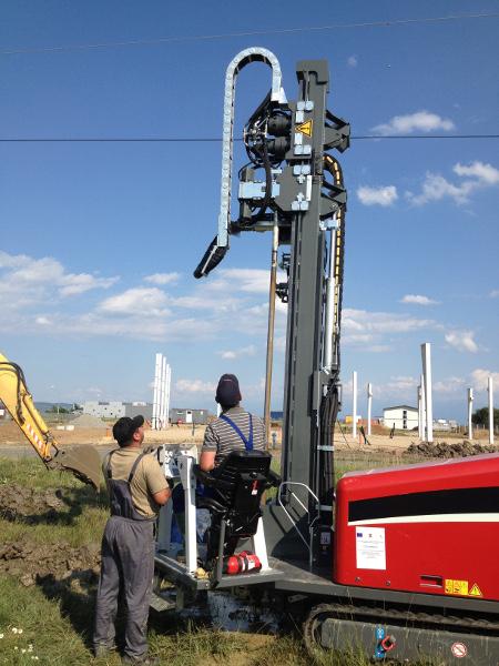 HDD horizontal drill TERRA-JET TJ 2808 S drills horizontal and vertical, pic 6