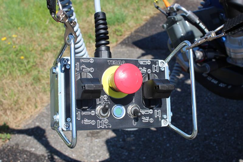 Télécommande de conduite pour hdd foreuse horizontale dirigeée
