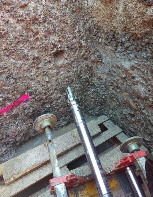 Fluid Rock Drilling