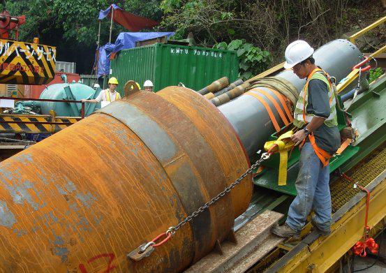 HDD Casing – tubage des premiers mètres en terrains meubles
