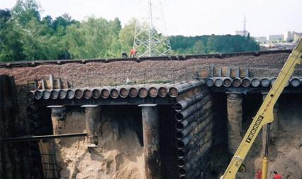 Construction de Tunnel